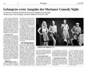 Murianer Comedy Night